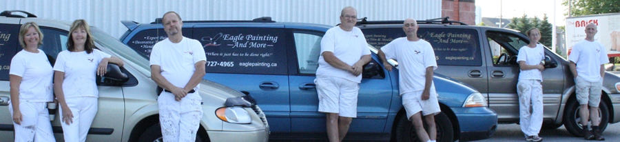 Eagle Painting professional painters in Barrie